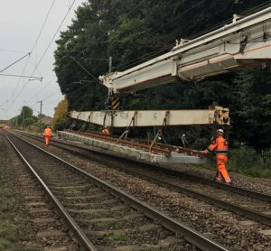 New track installed for more reliable service between Norwich and London
