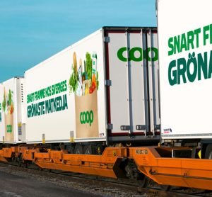 TX Logistik expands rail freight service for Coop in Sweden