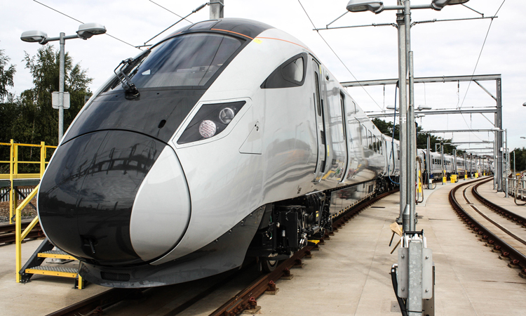 Hitachi TransPennine Express bullet inspired train