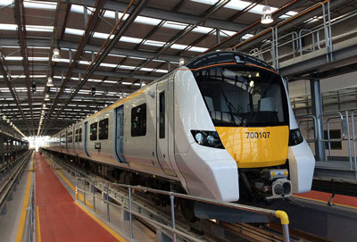 Transport Secretary opens Thameslink Three Bridges depot