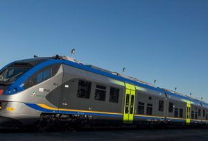 Trenitalia takes delivery of first Coradia Meridian Jazz EMU for Campania