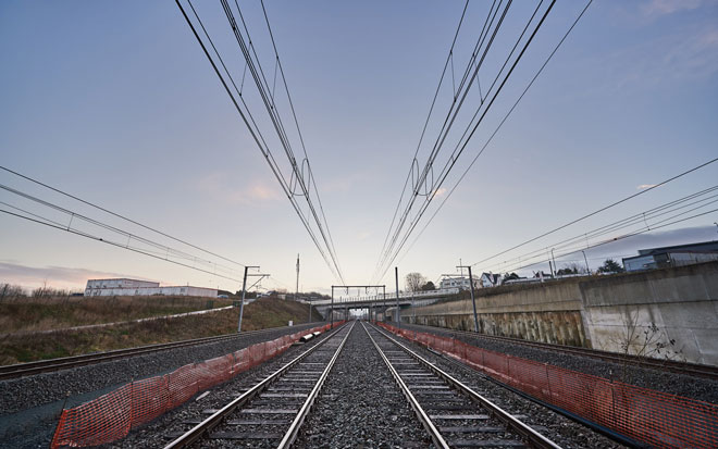 Two new tracks for Belgium's busiest railway line