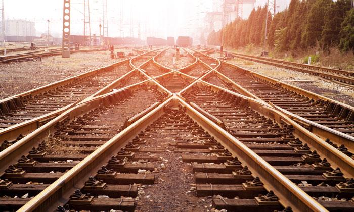 UIC rail tracks