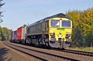 UK rail freight gains momentum in 2014