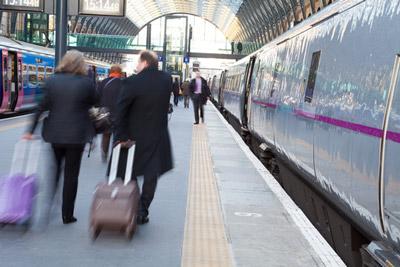 UK rail passenger satisfaction rises