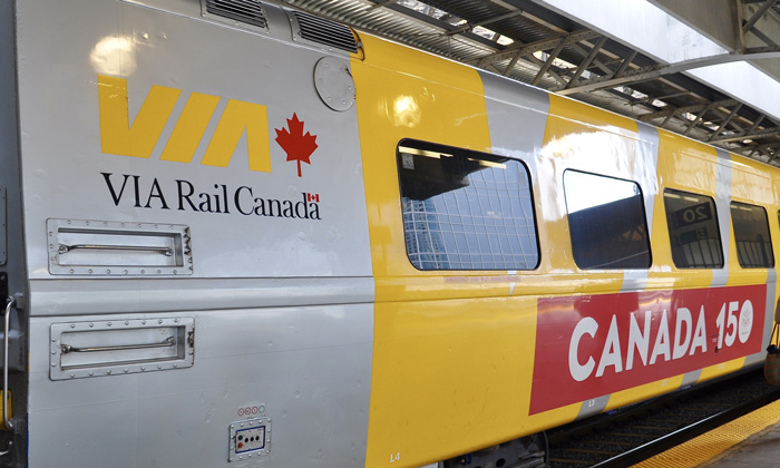 Highest revenue month on record for VIA Rail Canada