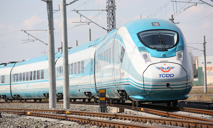 Turkish State Railways have purchased 10 Velaro high-speed trains
