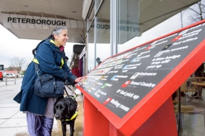 Virgin Trains and RNIB install tactile station maps for visually impaired travellers