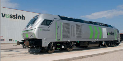 Vossloh receives UK and Italian orders for EUROLIGHT locomotives