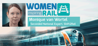 Women Inspiring Rail: A Q&A with Monique van Wortel, Shift2Rail
