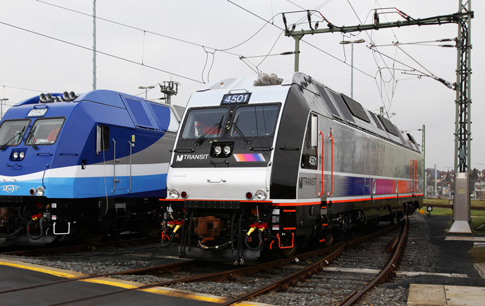 New Jersey Transit Corporation procures 17 additional ALP-45 locomotives