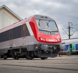 Alstom delivers the first overhauled BB36000 locomotive to Akiem