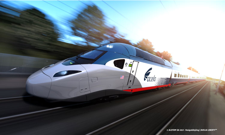 Amtrak and Alstom partnership has stimulated nationwide economy