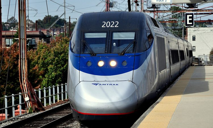 The Acela passenger railroad fleet undergoes complete redesign by Amtrak