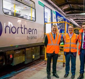 Northern and Arriva TrainCare display refurbishment of 150s