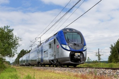 The Bombardier Regio 2N double deck train for SNCF in France