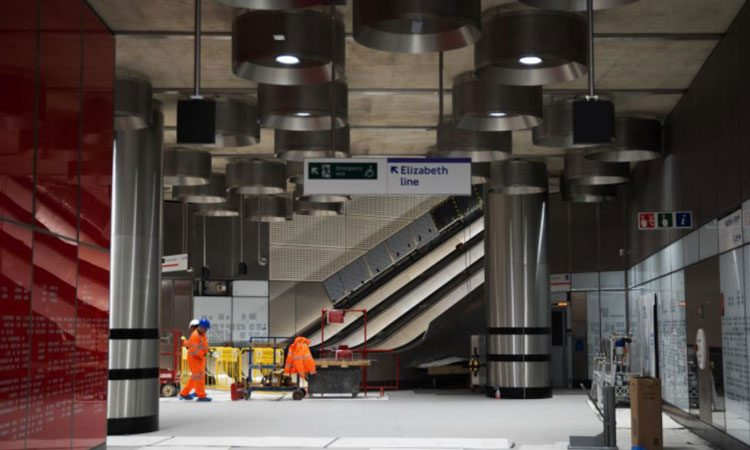 Crossrail reveals plans for completion of the Elizabeth line