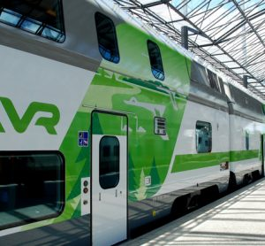 Double deck trains for Finland