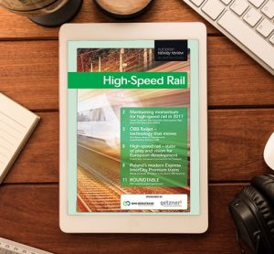 High Speed Rail in-depth focus 1 2017