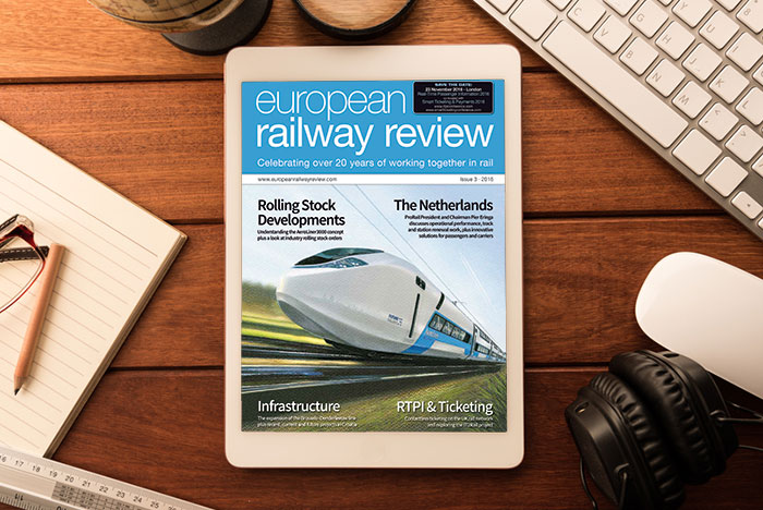 European Railway Review - Issue 3 2016