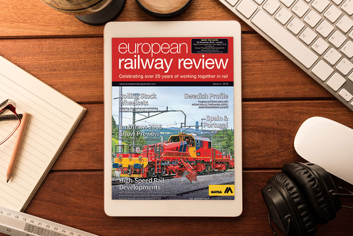European Railway Review - Issue 5 2016