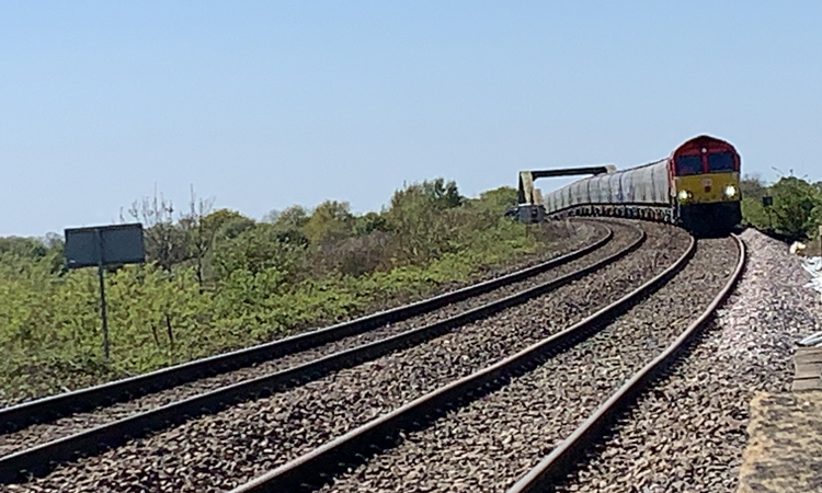 Work to reopen key UK freight line completed by Network Rail