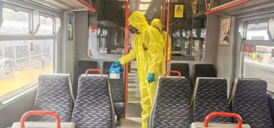 Greater Anglia cleaning trains and stations