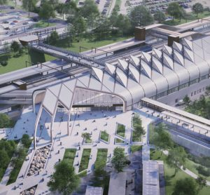 HS2's Interchange Station wins top environmentally-friendly design award