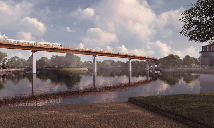 HS2 has revealed designs for automated people mover
