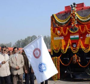 Indian Railways receive first two locomotives from GE Transportation