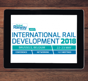 International rail Development (IRD) conference logo