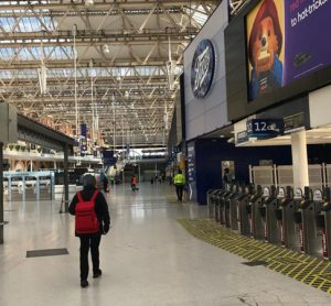 London passenger traffic falls by over 90 per cent due to COVID-19