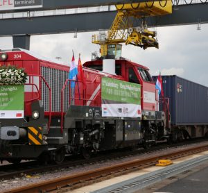Connecting Luxembourg to China, a new combined train is launched