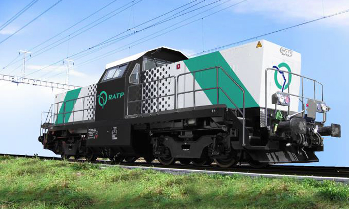 CAF to supply maintenance locomotives for RATP operated regional railway