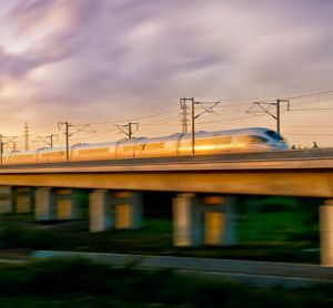 What is driving demand in the high-speed rail market?