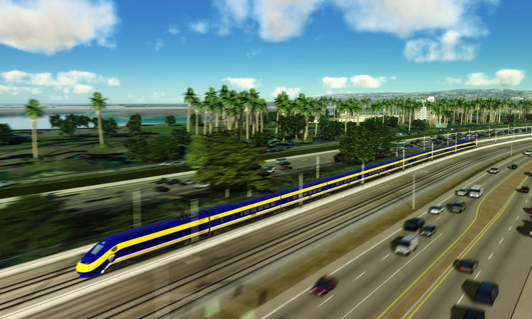 The California High-Speed Rail Authority announces new partnership