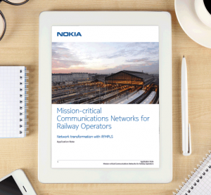 Whitepaper: Mission-critical communications networks for railway operators