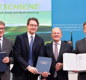 €86 billion modernisation programme approved for German rail network