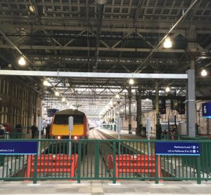 Two new, extended platforms open at Edinburgh Waverley