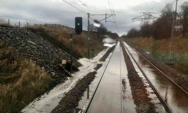 railway extreme weather flooding