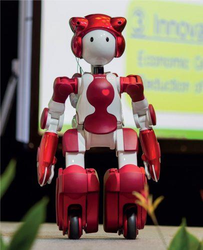 The JRE Communication Robot, EMIEW ai