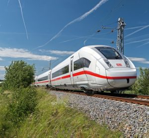 Siemens is building ICE 4 trains for Deutsche Bahn