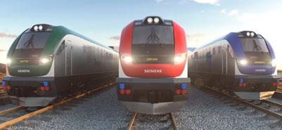 Siemens USA locos