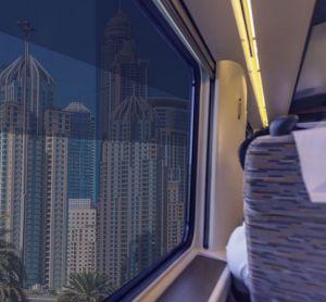 smart train window