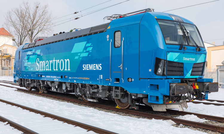 Paribus and Siemens Mobility sign agreement for 25 Smartron locomotives