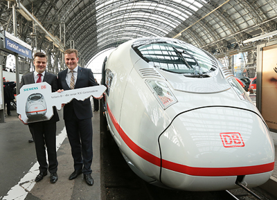 Siemens ICE 3-Generation: Der Velaro D / The latest ICE 3 generation: The Velaro D