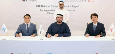 Etihad Rail awards package A of Stage Two, linking Ghuweifat and Ruwais