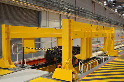 Mechan takes place in flagship Thameslink depot