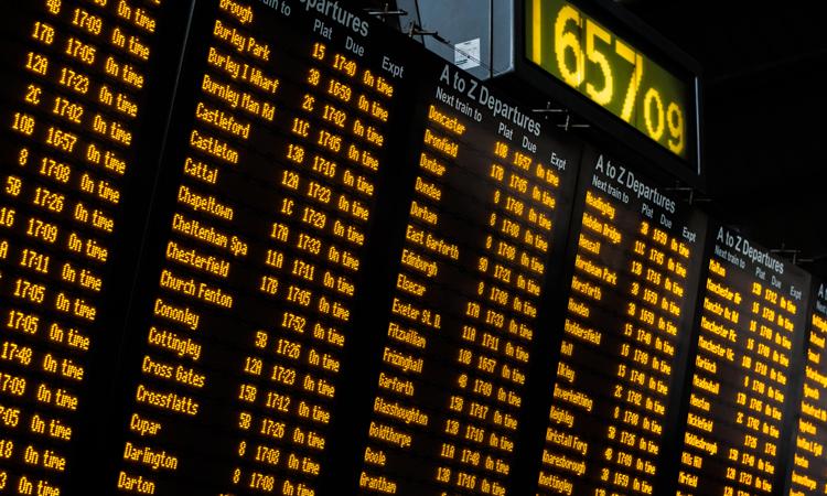 Multiple East-West Railways Integrated Timetable Storage