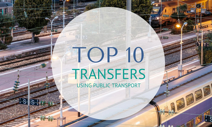 Top 10 Transfers Using Public Transport